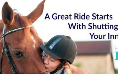 A Great Ride Starts With Shutting Up Your Inner Critic.